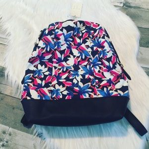 NWT a new day floral backpack
